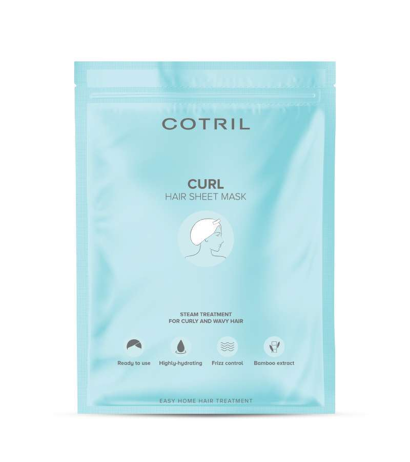CURL HAIR SHEET MASK - Mask for curly hair | Cotril.shop